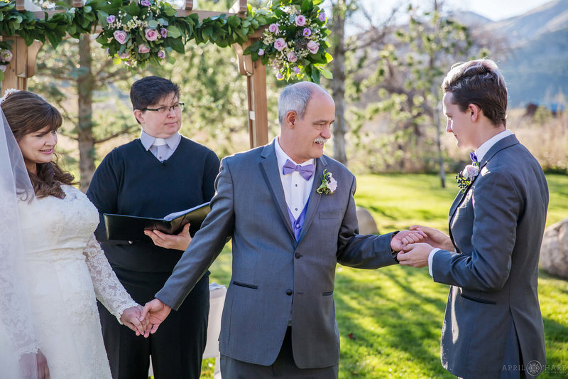 Rings-at-Outdoor-Wedding-Ceremony-During-Fall-at-Greenbriar-Inn-Restaurant