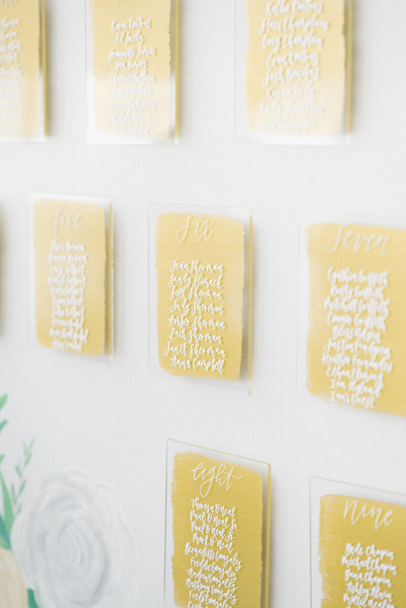 pirouettepaper.com | Wedding Stationery, Signage and Invitations | Pirouette Paper Company | Seating Charts 93