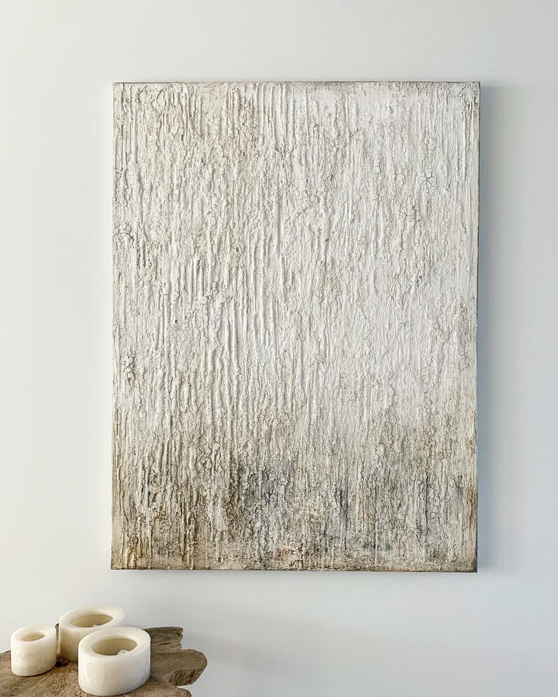 (SOLD) IMPERFECTION - 120 x 160 cm - COLLECTION NATURALS