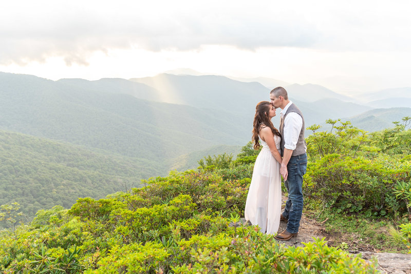 Asheville wedding photographer, craggy pinacle engagement, craggy pinacle (3)