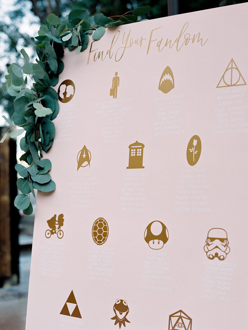 pirouettepaper.com | Wedding Stationery, Signage and Invitations | Pirouette Paper Company | Seating Charts 71