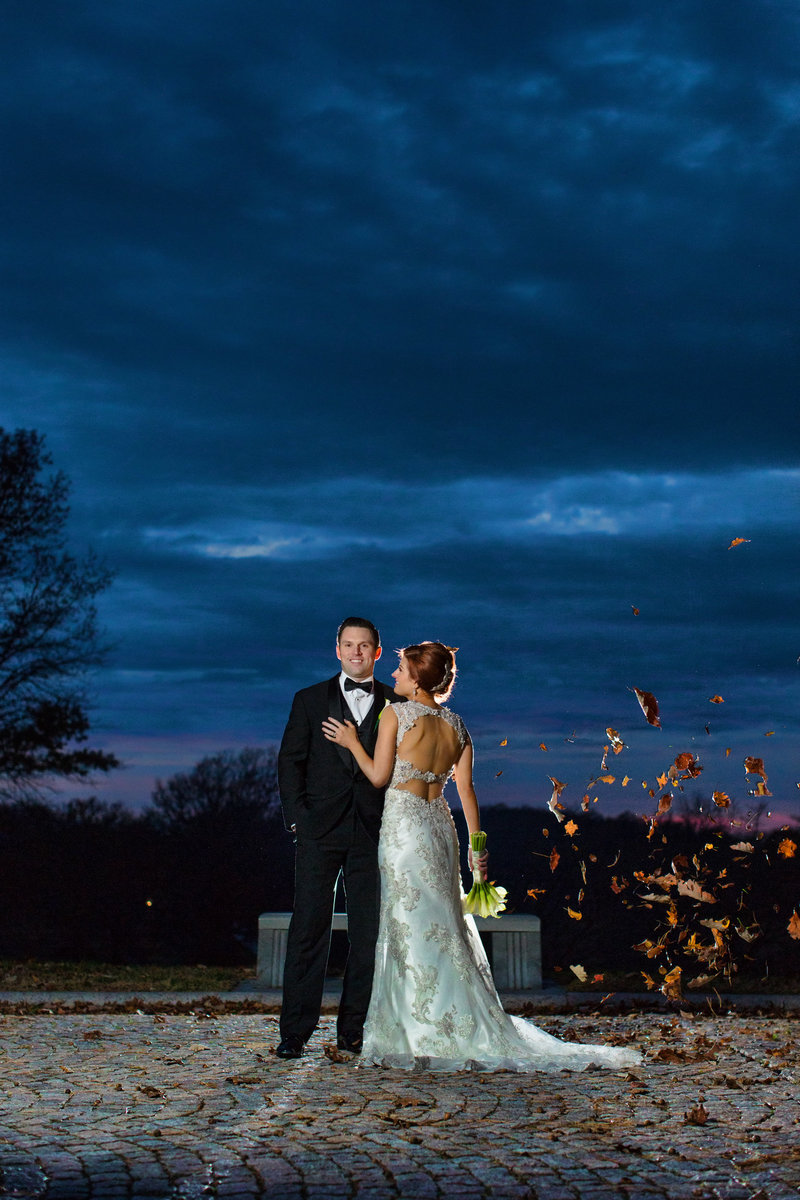 Valley Forge National Historical Park Autumn Wedding