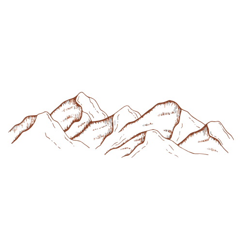 Mountains Graphic 1 (orange)