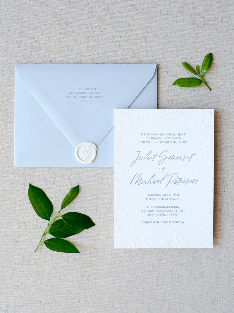Wild Bouquet 2-Piece Semi-Custom Invitations