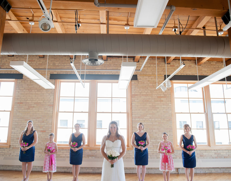 Fargo Plains Art Museum Wedding Photo space and reception Venue Kris Kandel Photographer (2)
