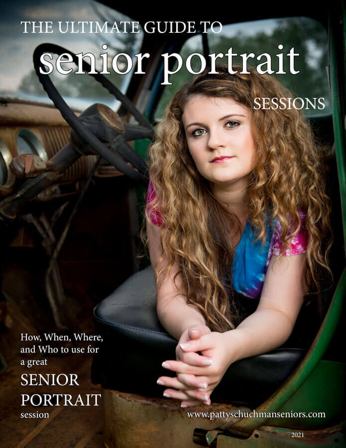Cover image of the Ultimate Guide to Senior Portrait sessions