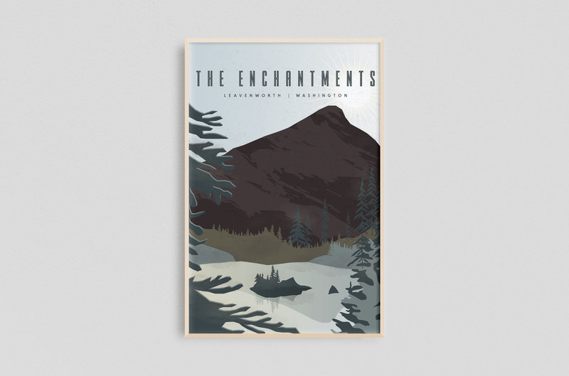Framed (Smaller) - The Enchantments