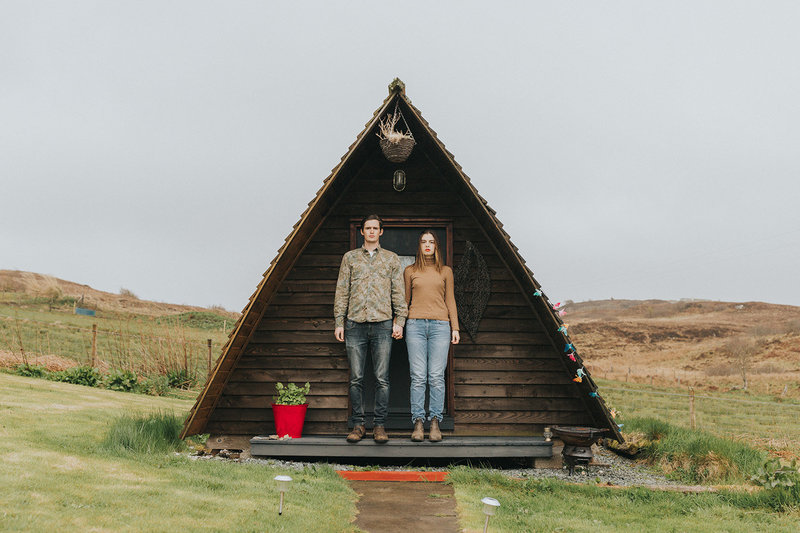 Wigwams in Scotland
