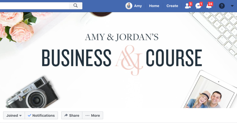 Business Course Facebook Group