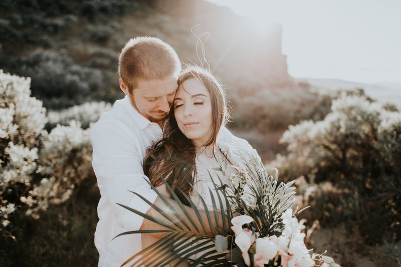 Desert Rise Wedding Stylized Shoot | Bohemian Desert Gypsy Wedding – Vantage, WA | Tin Sparrow Events + Alex Lasota Photography