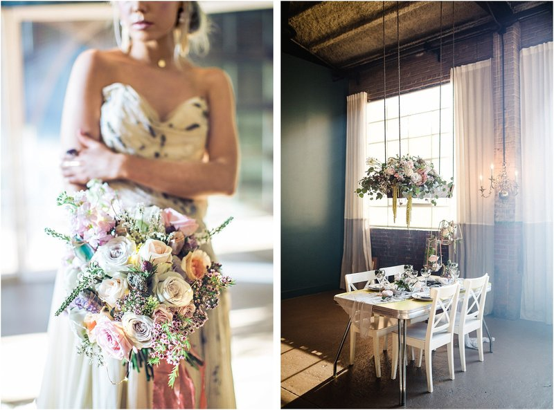 moody drusy boho wedding at Soho South Savannah