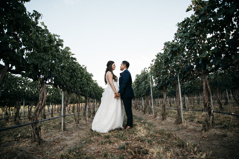 Christine + David Winery Wedding | Tin Sparrow Events + Jessica Hunter Photography