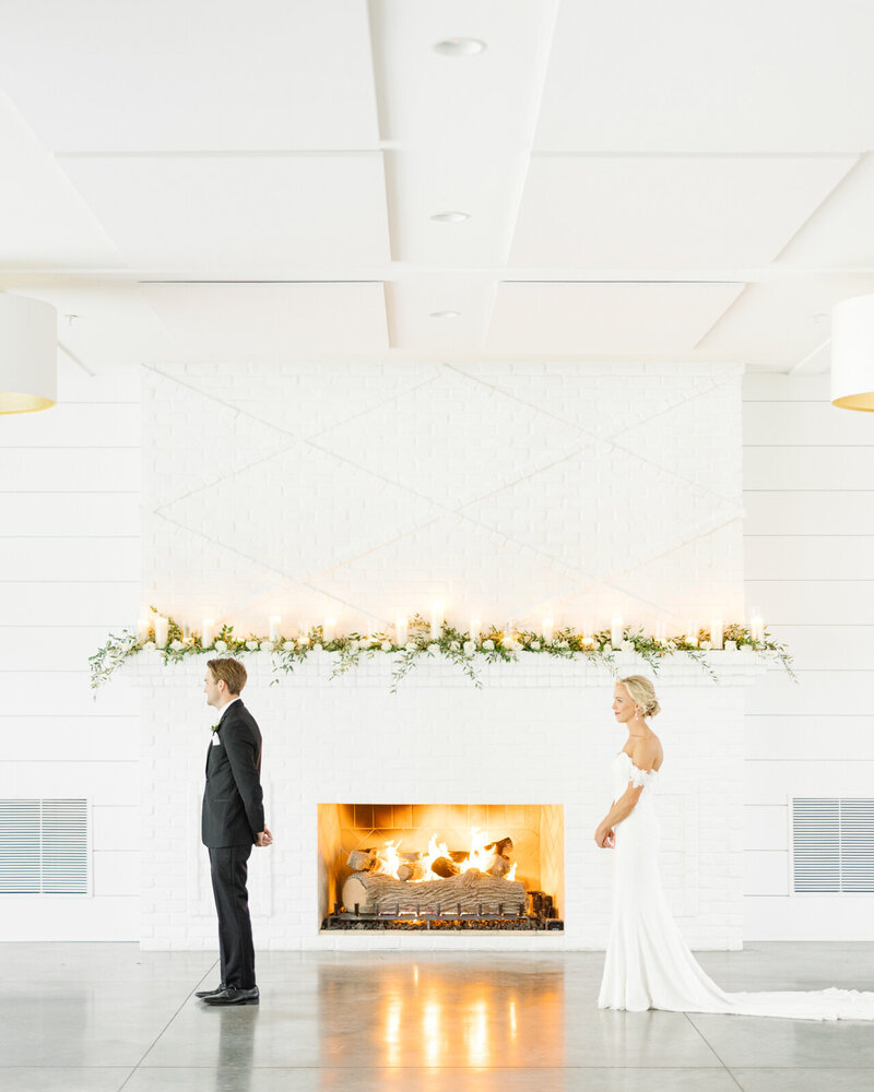 The-Hutton-House-medicine-lake-minnesota-first-look-Fireplace-Bride-and-groom-florals-Wedding