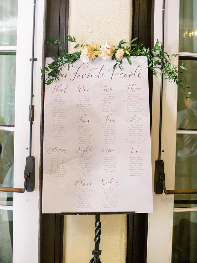 pirouettepaper.com | Wedding Stationery, Signage and Invitations | Pirouette Paper Company | Seating Charts 69
