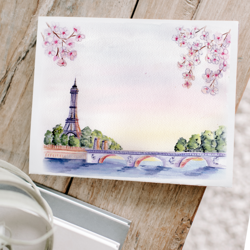 Order your custom watercolor painting today!