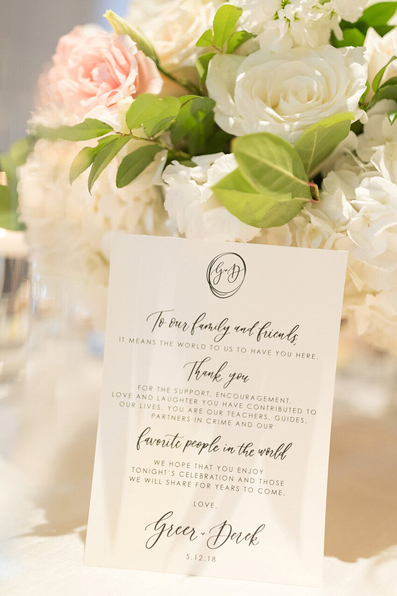 pirouettepaper.com | Wedding Stationery, Signage and Invitations | Pirouette Paper Company | Menus + Programs 17