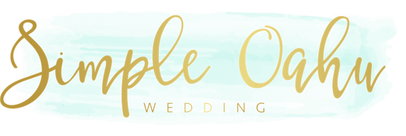Simple Maui Wedding logo