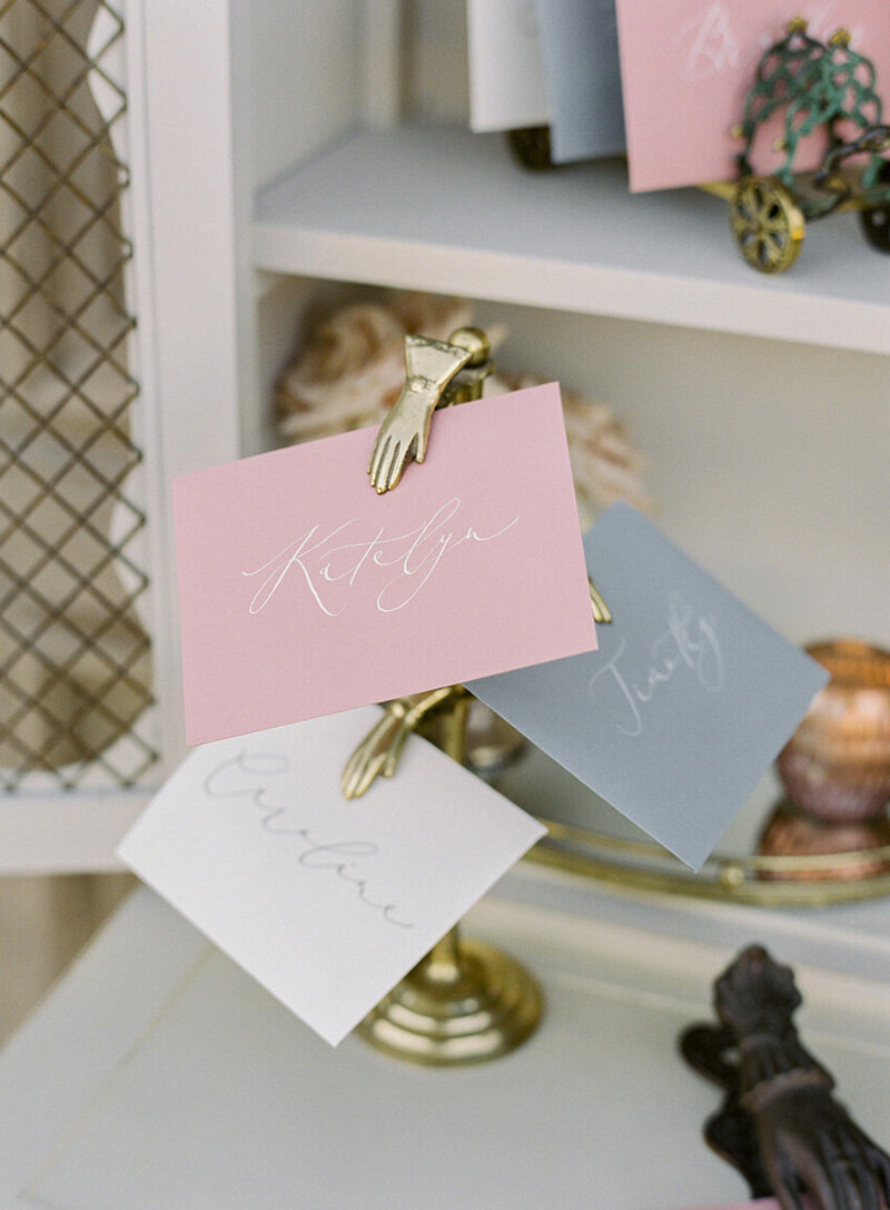 pirouettepaper.com | Wedding Stationery, Signage and Invitations | Pirouette Paper Company | Escort Cards 01