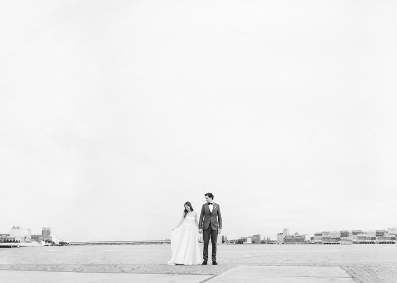 Laura & Pieter - Amsterdam wedding photographer elopement fine art  46
