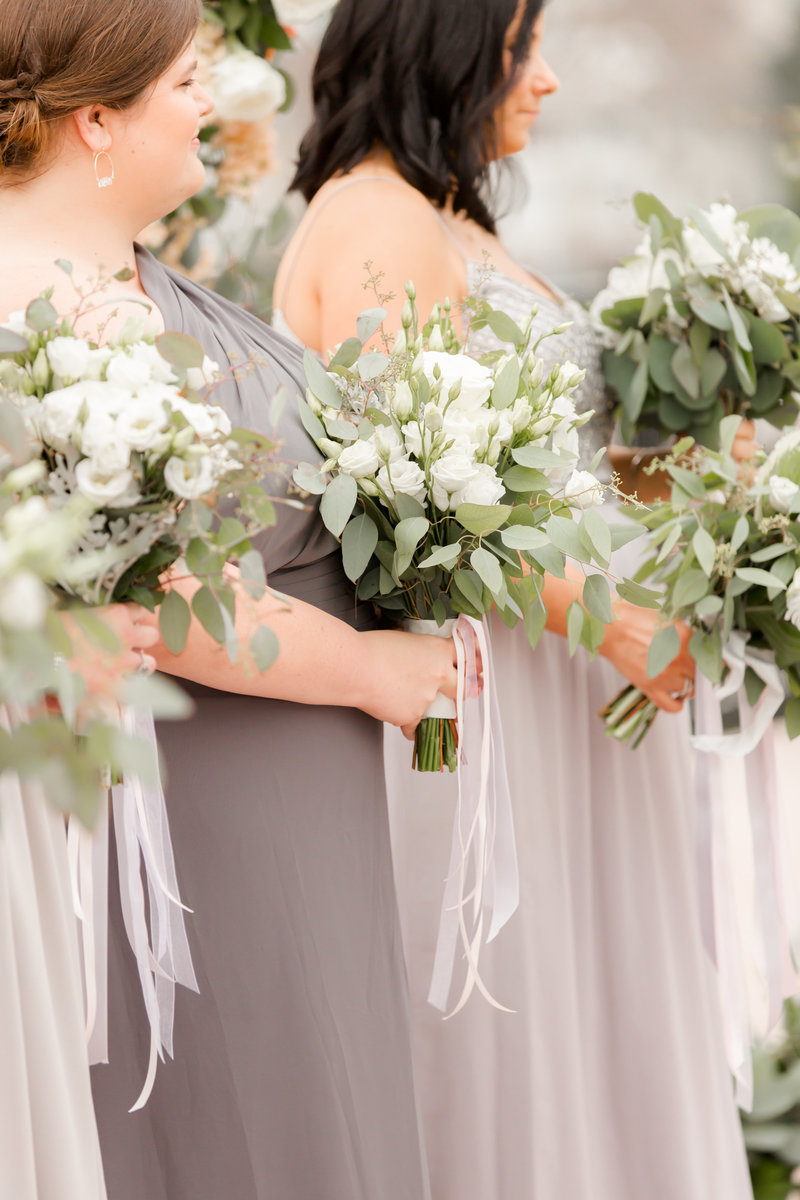 Natural bouquets by Craig Kiely and Darryn Murphy Designs
