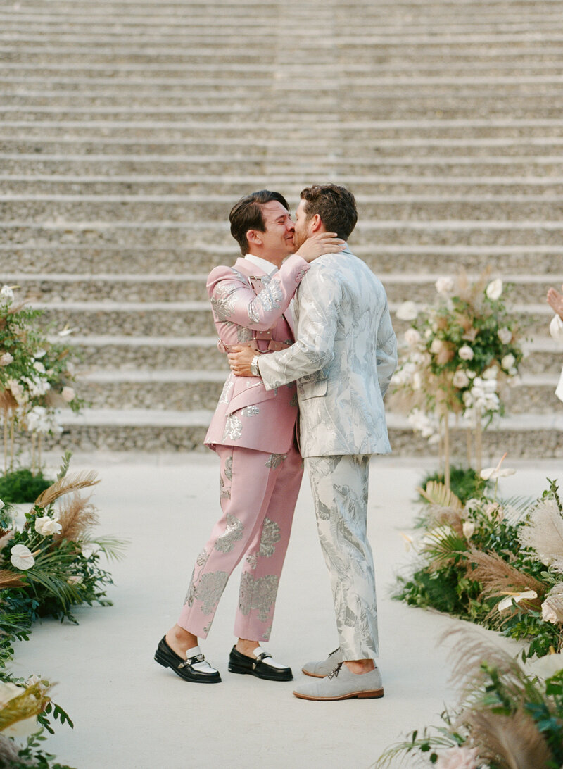 Modern, Same Sex Wedding in Casa de Campo, Dominican Republic