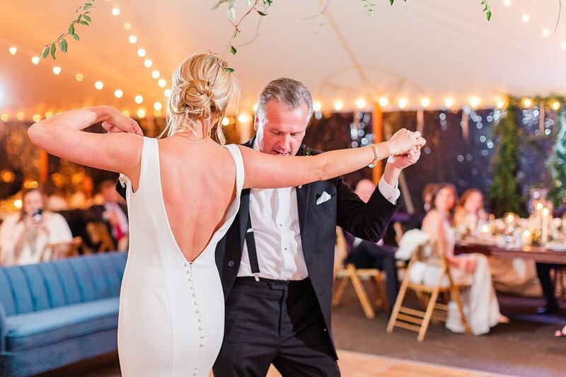 father daughter dance by Knoxville Wedding Photographer, Amanda May Photos