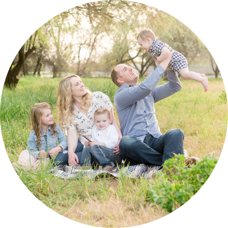 Utah family photographer reviews - jessie and dallin