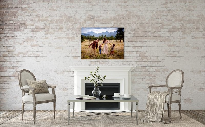 Alisa Messeroff Photography, Alisa Messeroff Photographer, Breckenridge Colorado Photographer, Professional Portrait Photographer, Family Photographer, Family Photography, Family Portraits - Fine Art Canvas Wall Art