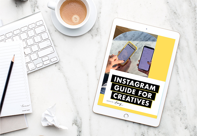 Instagram guide for creatives
