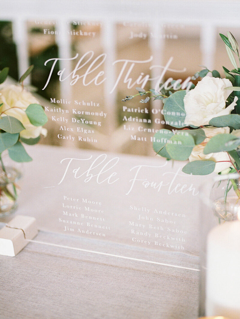 pirouettepaper.com | Wedding Stationery, Signage and Invitations | Pirouette Paper Company | Seating Charts 67