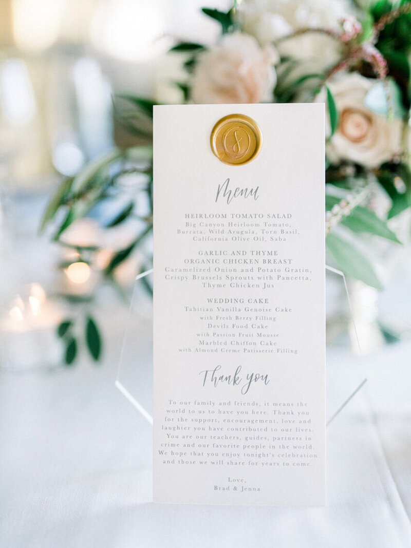 pirouettepaper.com | Wedding Stationery, Signage and Invitations | Pirouette Paper Company | Menus + Programs 44