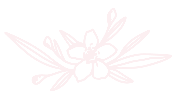 Branded Floral Graphic Element in pink