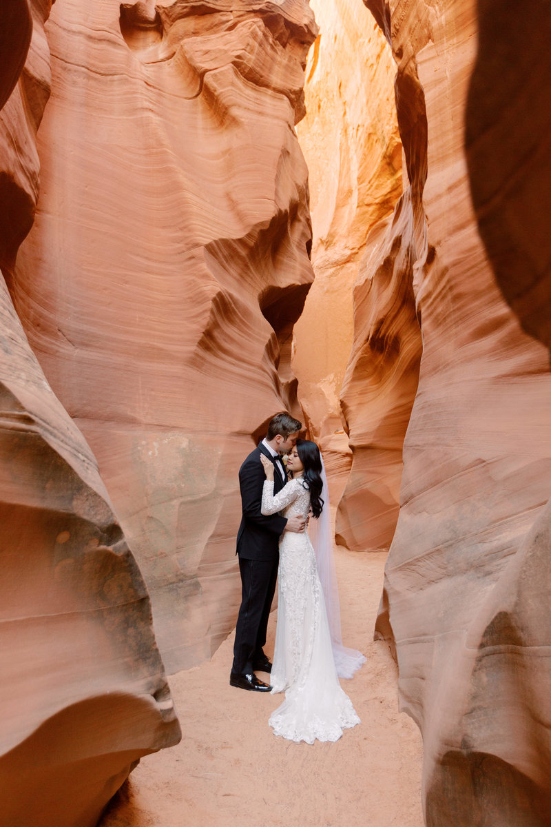 Secret Slot Canyon Elopement