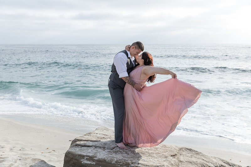 La Jolla Beach California Engagement Photos by Kaci Lou Photography-2485_websize