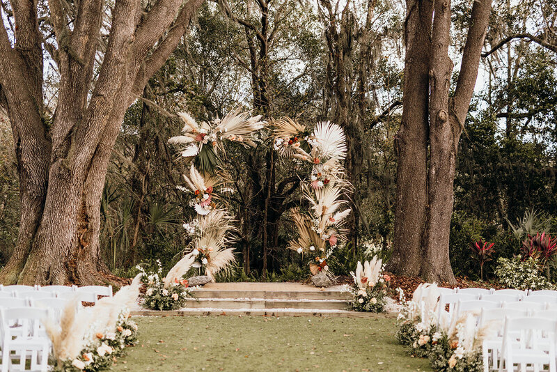 landscape wedding photos