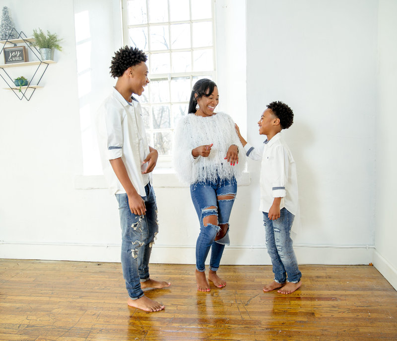 Mother son, sons, black boys, family photographer, dc photographer,