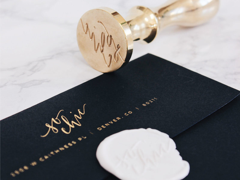 Modern Wax Seal Design and Branding