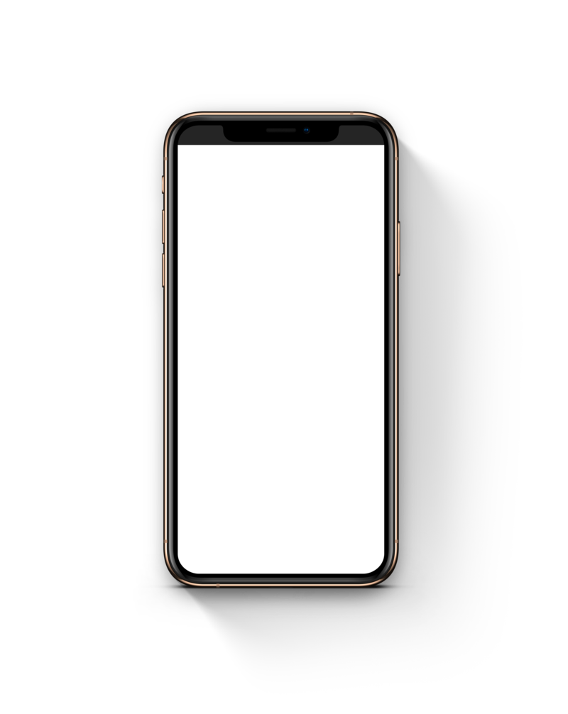 iPhone XS 2018 Mockup Shadow