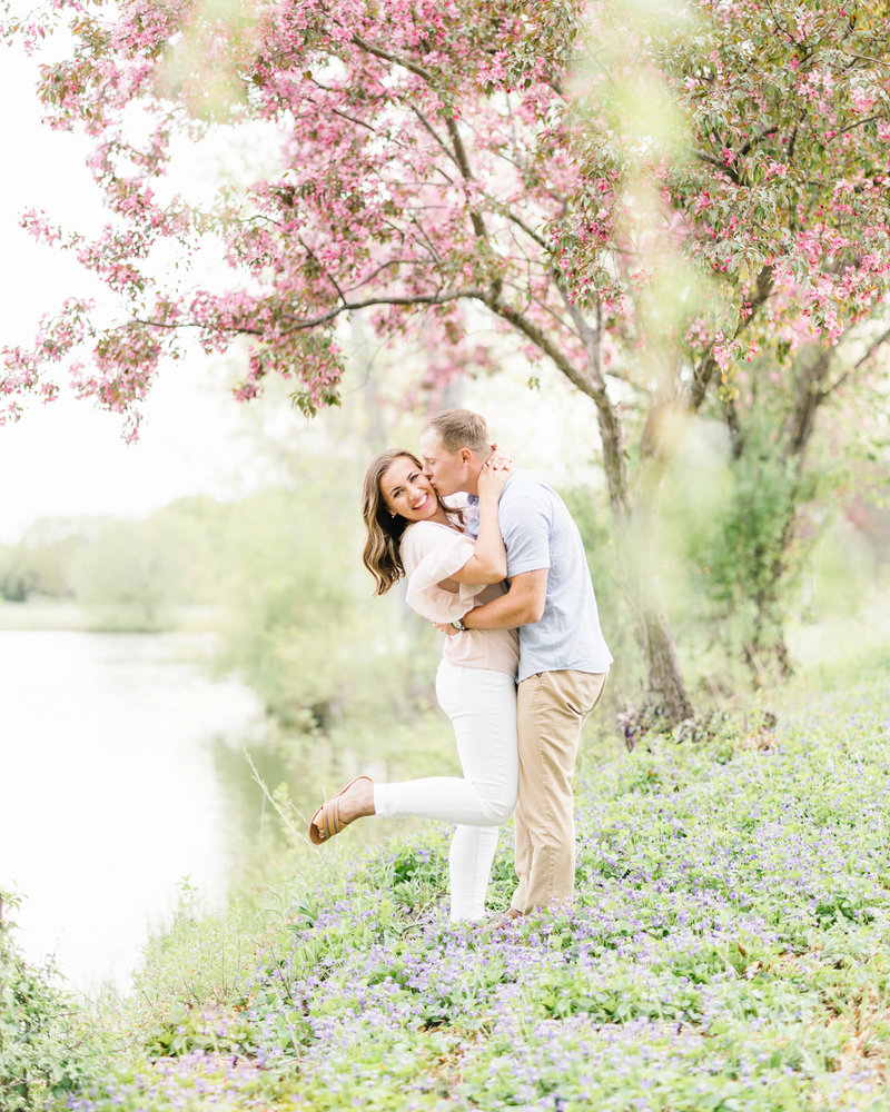 Spring-Minneapolis-Engagement-Flowering-Trees