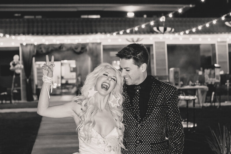 Property Brothers JD & Annalee Belle Halloween Dress-up Wedding
