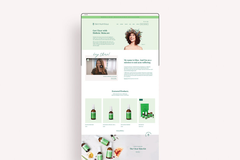 Kathy-Ramirez-Graphic-Designer-Ethical-Skincare-Shopify-Website
