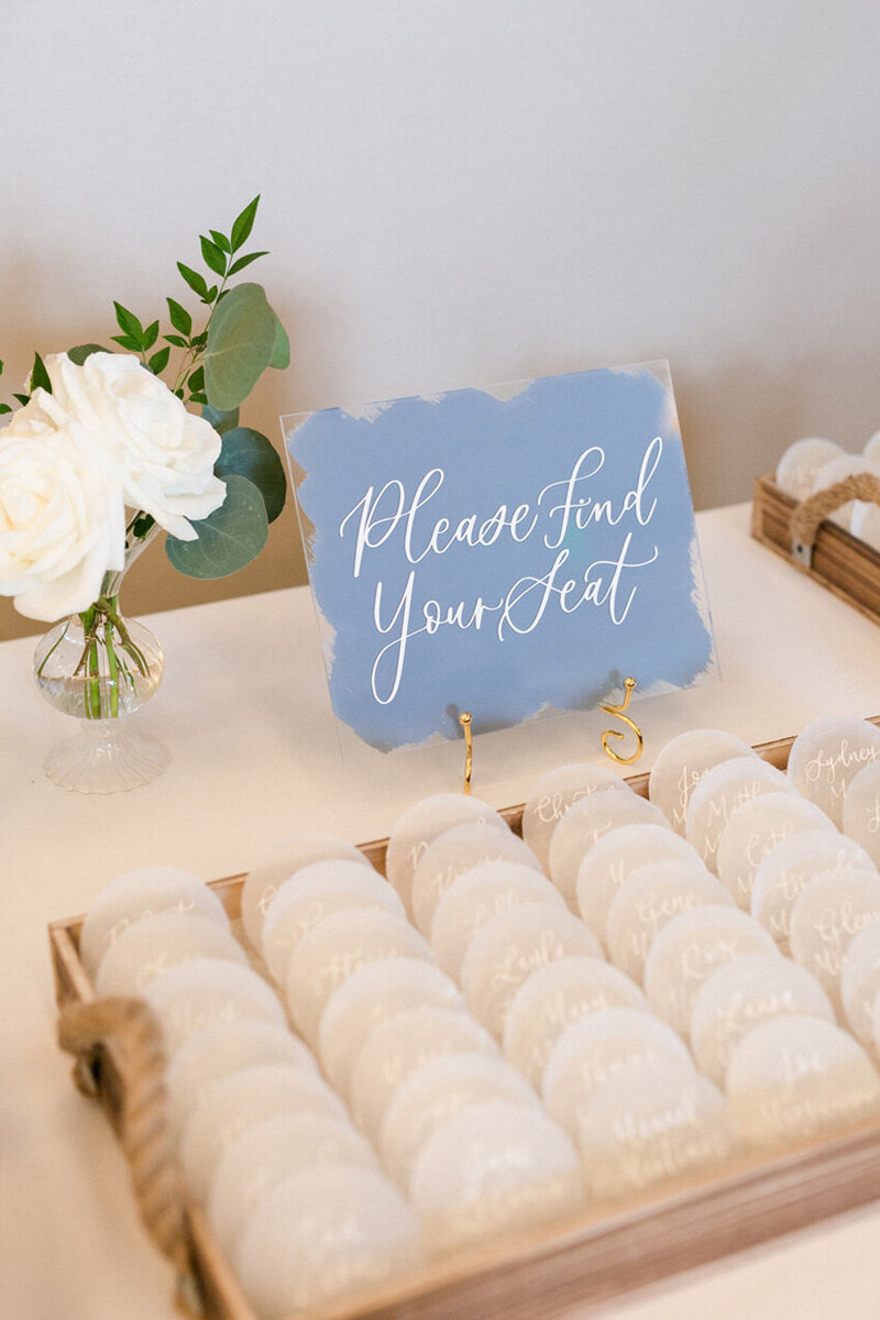 pirouettepaper.com | Wedding Stationery, Signage and Invitations | Pirouette Paper Company | Escort Cards 81