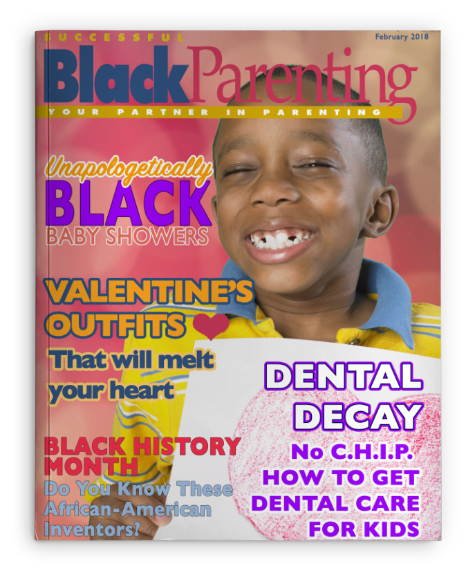 Successful Black Parenting - Feb  Magazine Cover