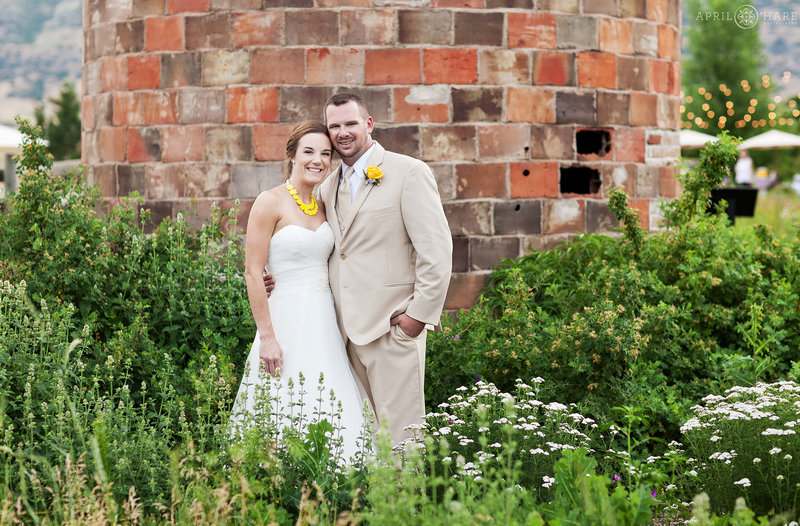 Red Brick Silo Wedding Photography at Chatfield Farms Denver Botanic Gardens