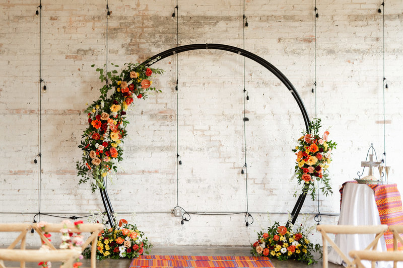 Wedding Florist Dallas Texas | Jubilee Flower Co. - Colorful Crescent Court Floral Design