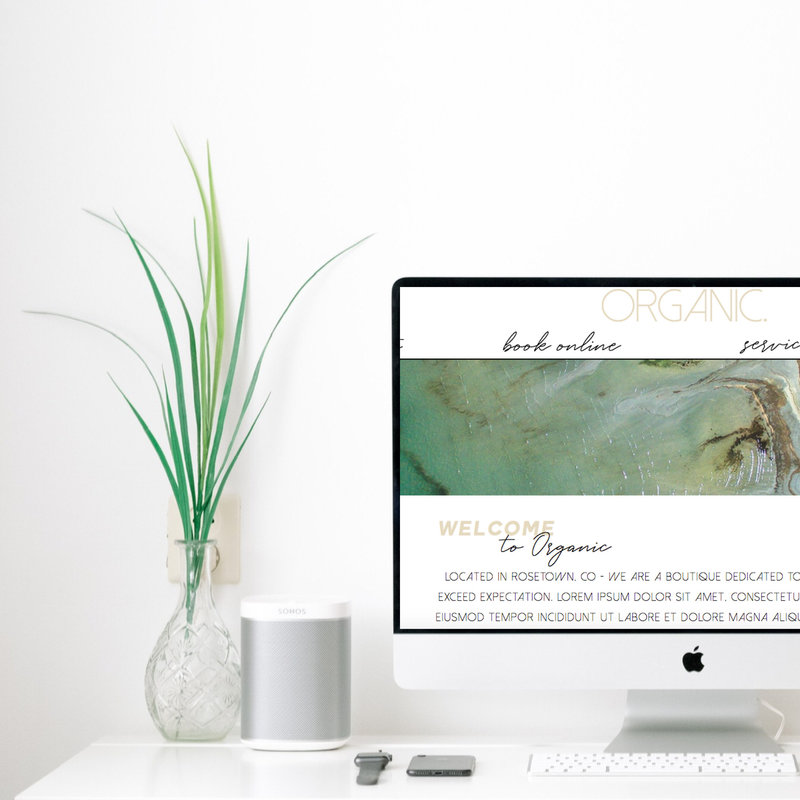 Easy to launch website templates for eyelash extension business