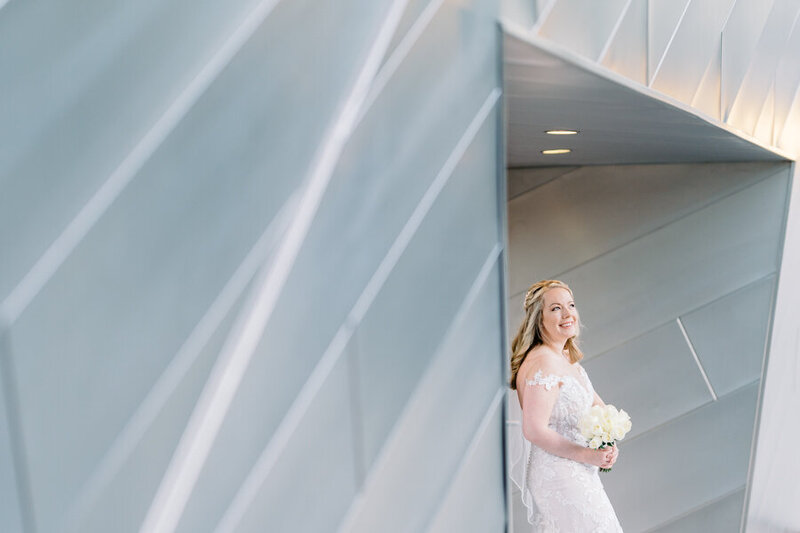 Portrait of the bride at Aria Las Vegas