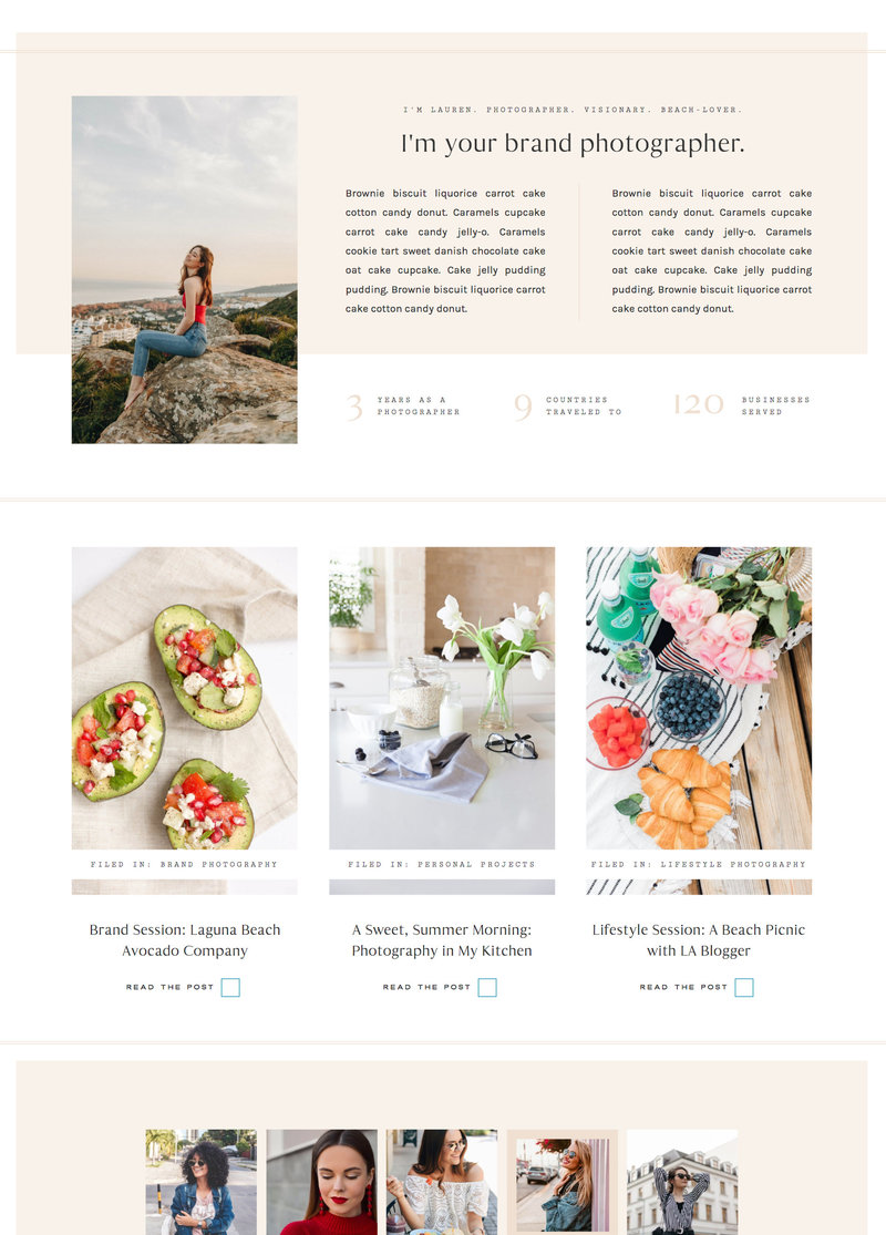 With Grace and Gold - Best Showit Design Designs Designer Designers Theme Themes Template Templates Web Website Websites for Photographers Creatives Small Business Owners - 41