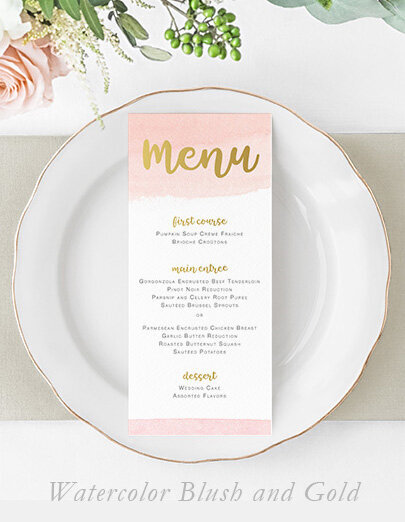 watercolor-blush-gold-wedding-menu