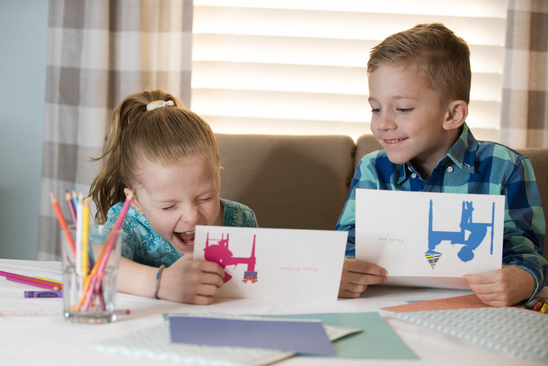 How to get your kids to write thank you cards